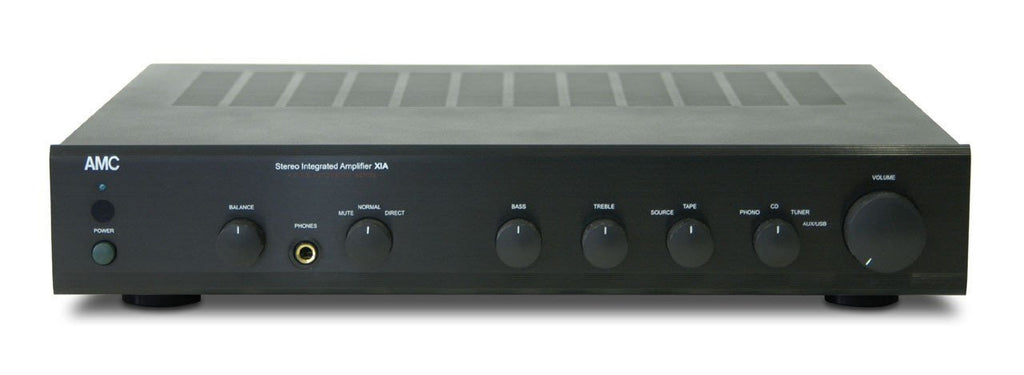 AMC Amplifier & Preamplifier black AMC XIA 50 Integrated Amplifier with Phono Input!
