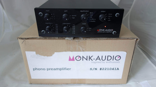 Monk Audio Amplificatore e preamplificatore Monk Audio Phono Pre Secondhand