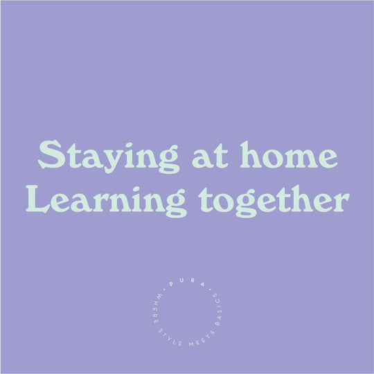Staying at home, Learning together