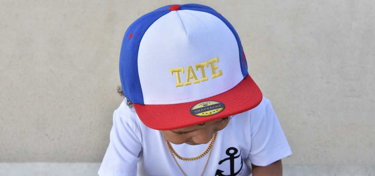 Little Snapbacks Personalised Kids Snapbacks