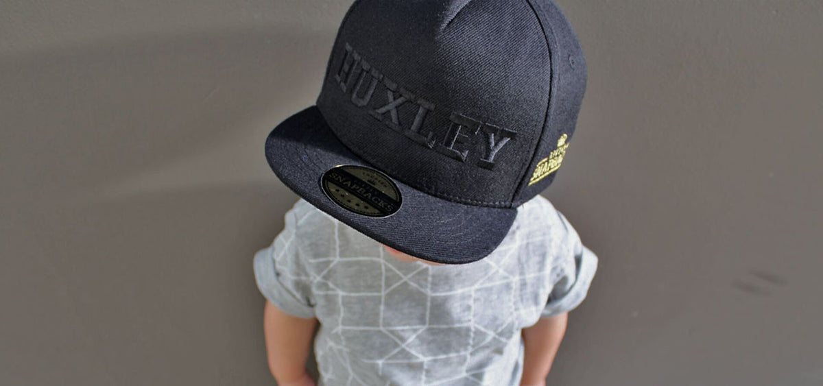 ... Little Snapbacks Boy in Snapback cap ... d4f79d6d88c9