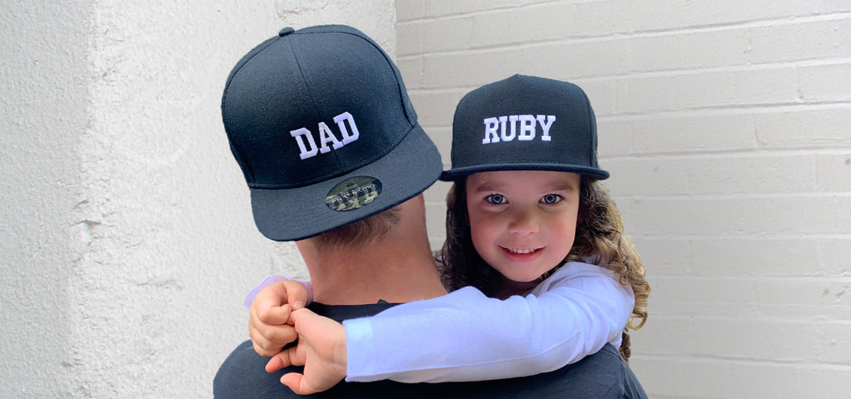 Little Snapbacks Personalised Fathers Day Gift
