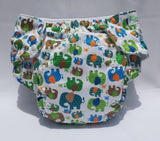 XL All in Two Cloth Diaper for children 35 to 60 pounds