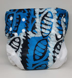 Kitenge swim diaper, one size