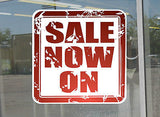 Sale window shop sign poster sticker Vinyl retail STORE POS sale advertising