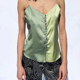 covered button camisole
