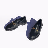 lug sole loafer