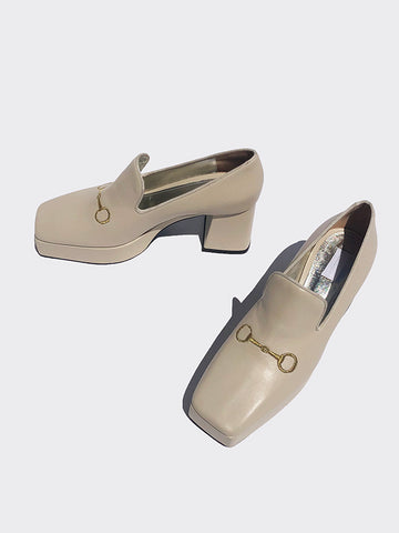 IN STOCK! nappa platform loafer