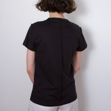 short sleeve inverted seams tee