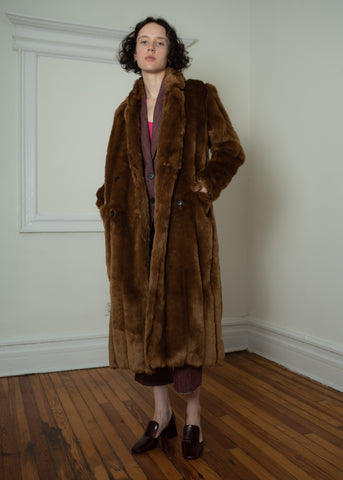 faux mink coat