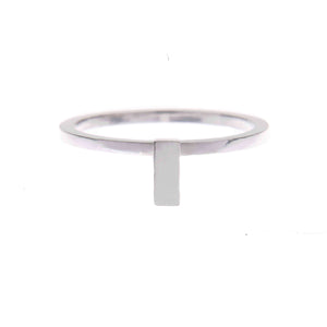 Ingot Ring in Silver
