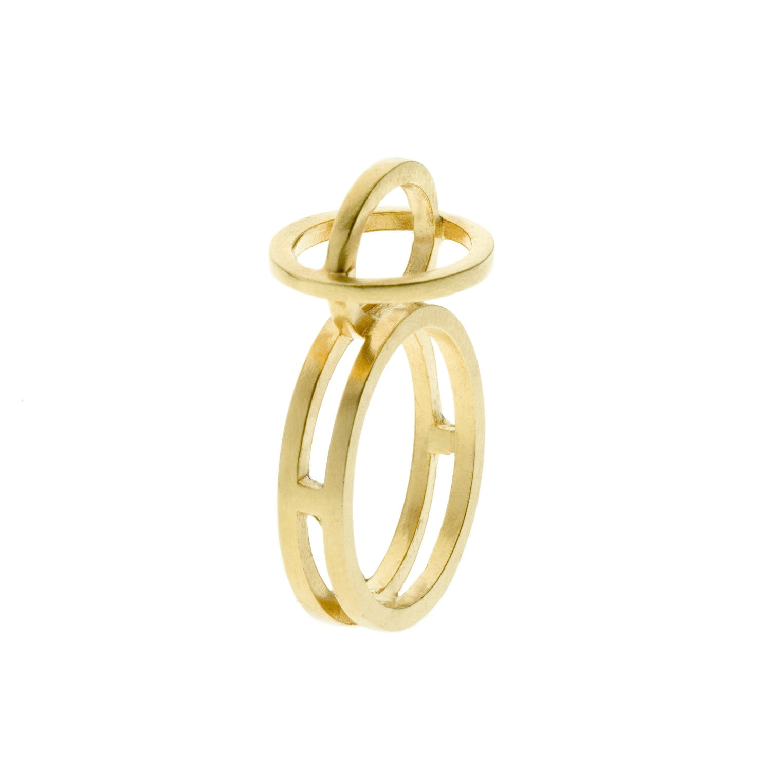 Plain ellipse ring - Nancy rose jewellery