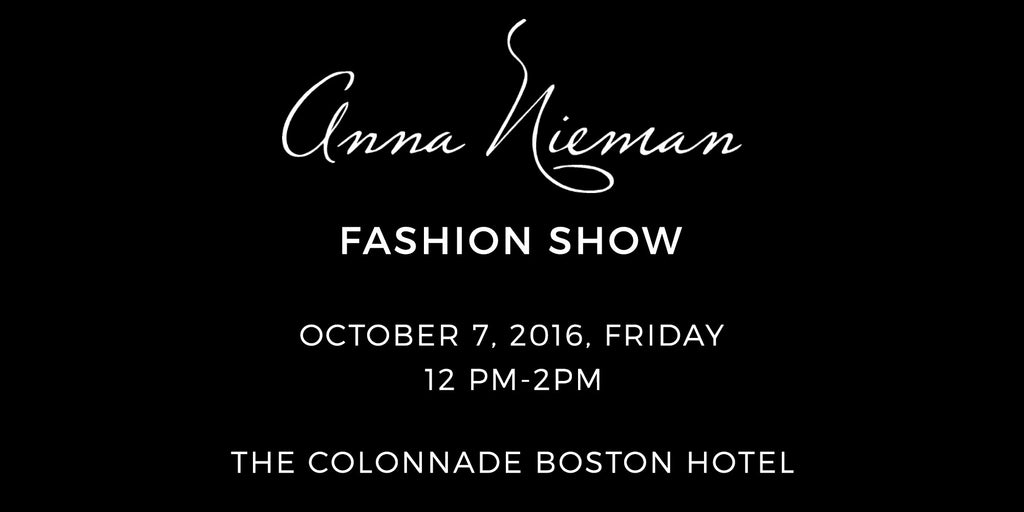 Anna Nieman Fashion Show