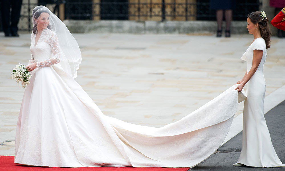 Anna Nieman Makes Replica of Kate Middleton Wedding Gown
