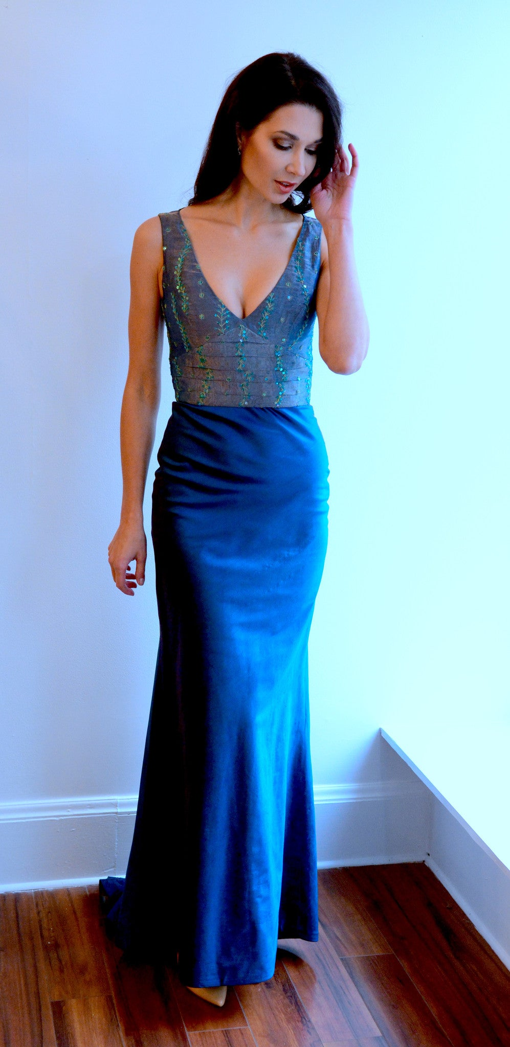 Classic Emerald Evening Gown – Anna Nieman Boutique