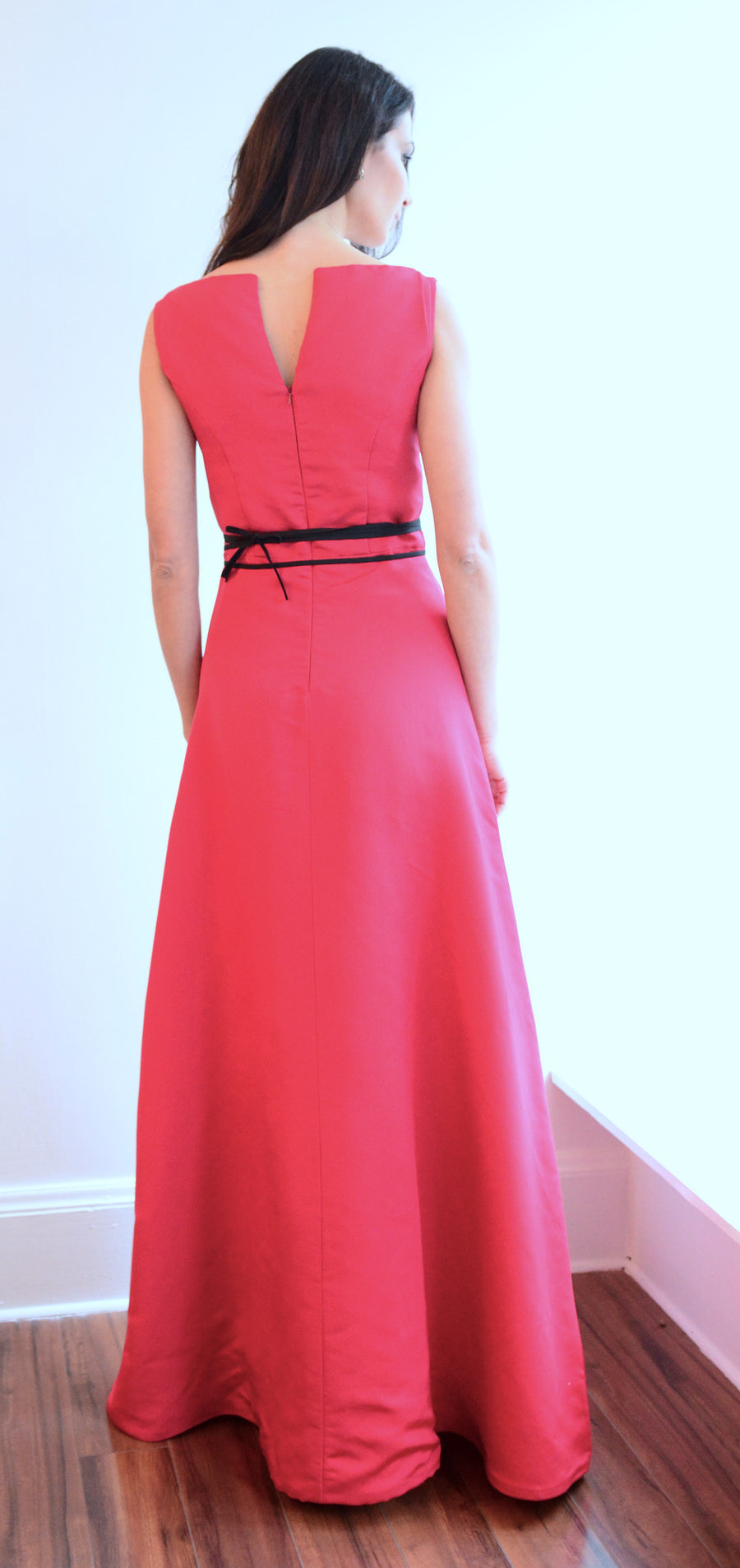 Classic Red Evening Gown