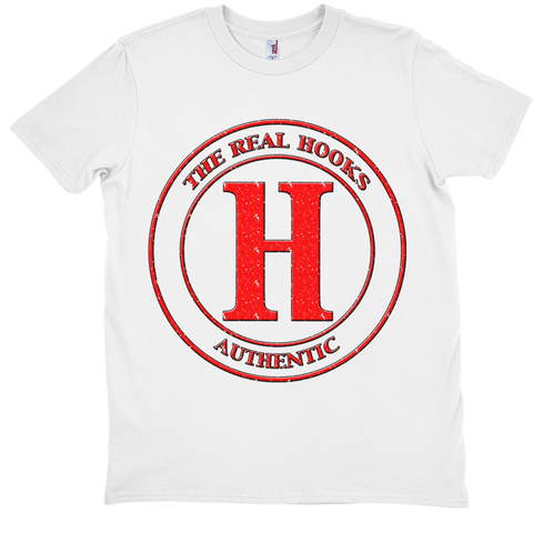 The Real Hooks (Fan Tee - Vertical)