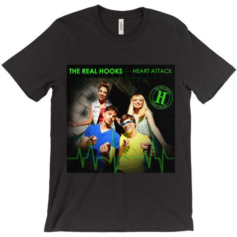 The Real Hooks - Heart Attack Tee