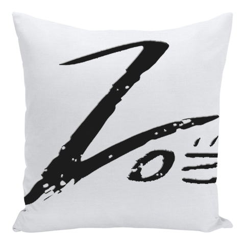 Zoë Throw Pillows (Black and Pink Combo)
