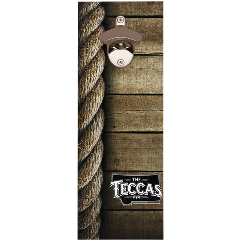 The Teccas | Wooden Bottle Openers