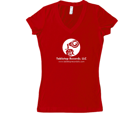 V-Neck T-Shirt (Womens)