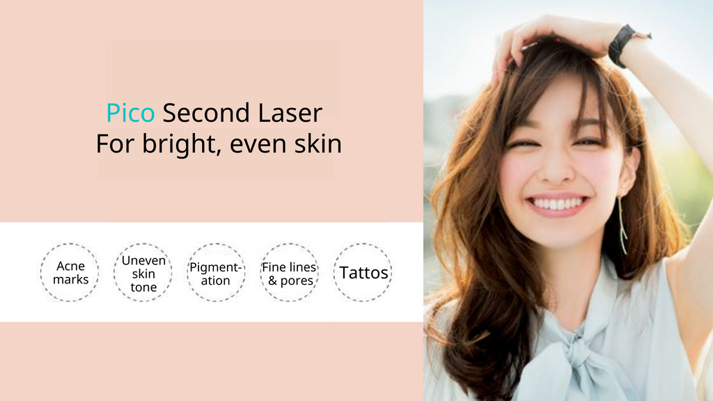 Pico-second laser for skin rejuvenation - achieve bright and even skin. Beauty Academy HK