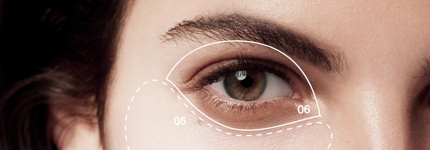 Treatment for undereye circles, dark eye circles, panda eyes - BeautyAcademyHKy a host of different factors.