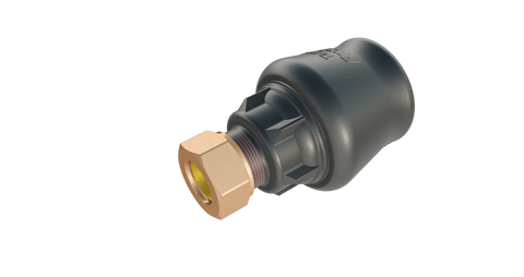 Talbot Pushfit Copper Adaptor