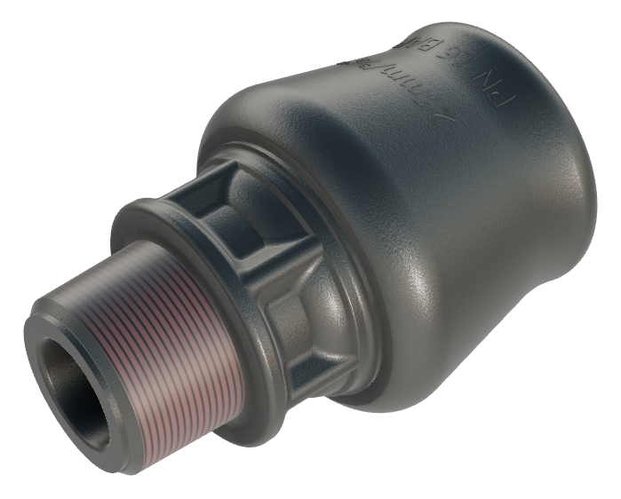 Talbot Pushfit Male Adaptor