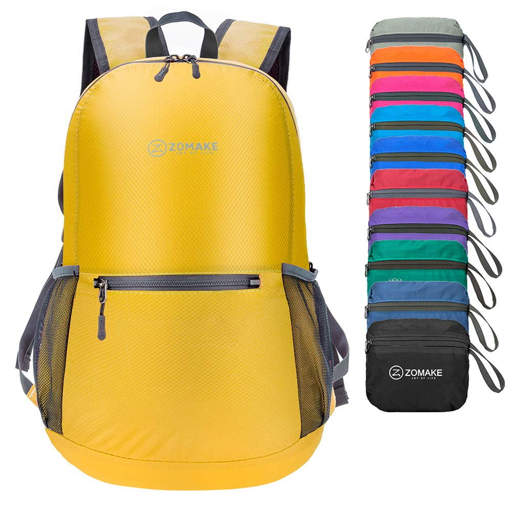 Ultra Lightweight Packable Backpack Small Water Resistant Travel Hiking Daypack