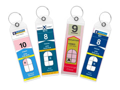 Celebrity Cruise & Royal Caribbean - Narrow Cruise Tags Holders