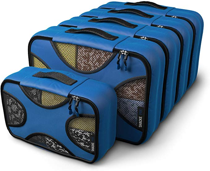 5 Set Packing Cubes - Medium/Small – Luggage Packing Travel Organizers