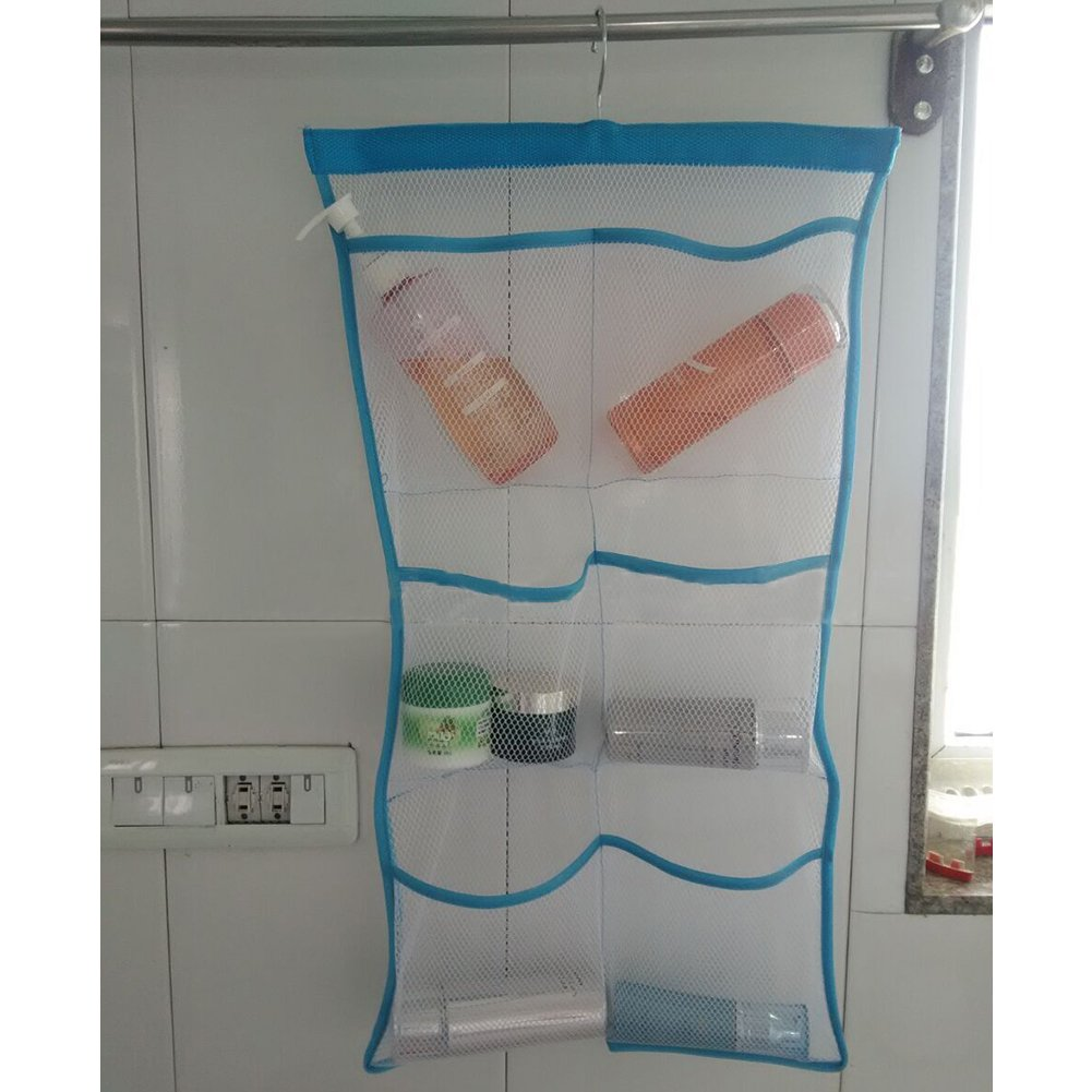 Quick Dry Hanging  Shower & Bath Organizer with 6 Pockets