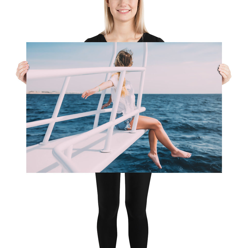 "Cruising Gal ""Come with Me"" Poster"