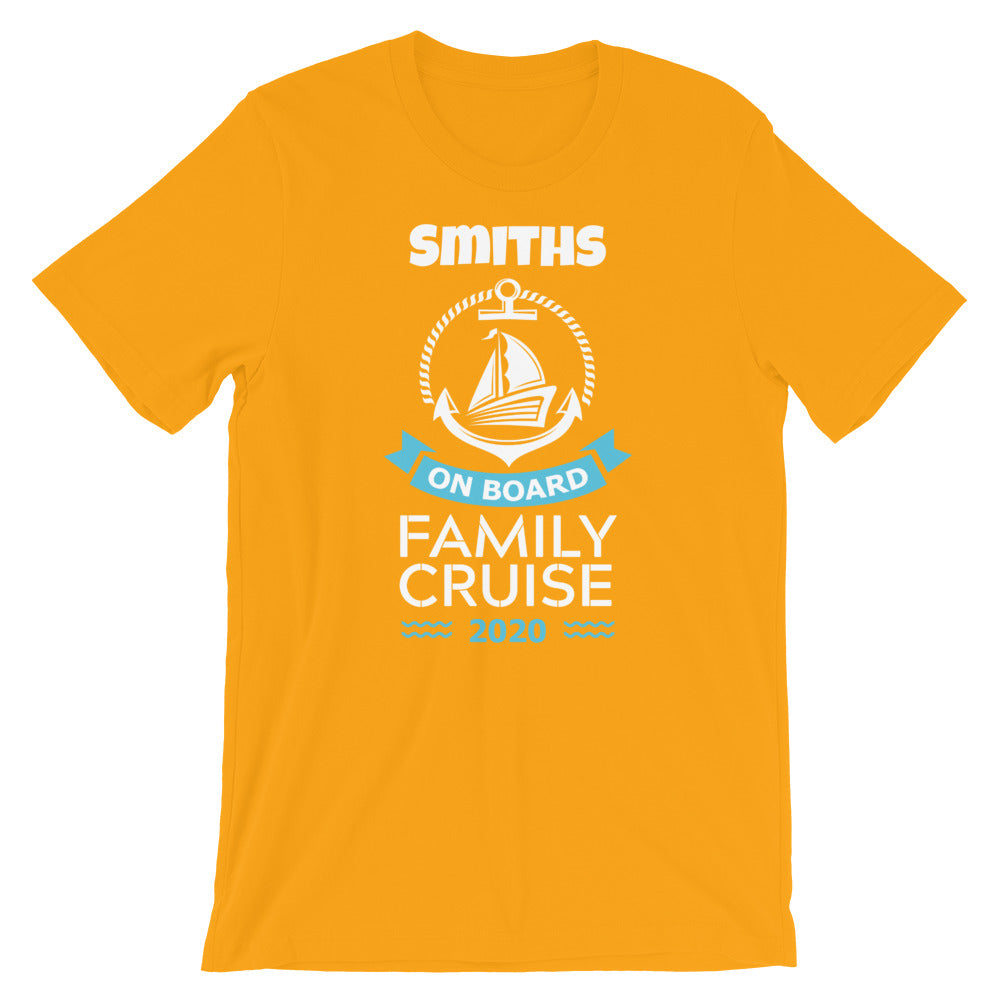 Personalize Your Own Family Cruise Shirt | Highwind Travel
