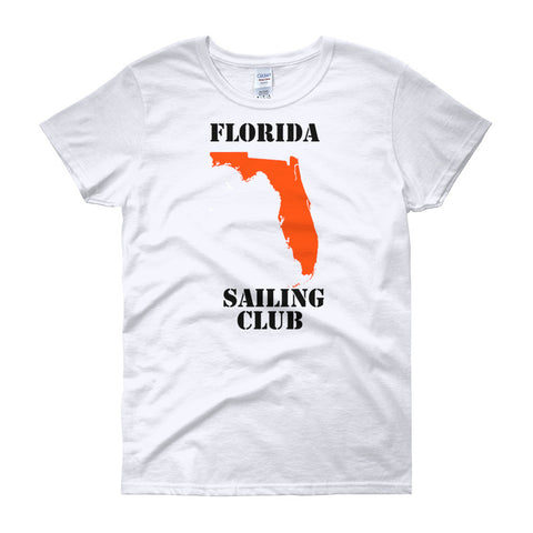 Highwind Women's Florida Sailing Club Parody T-shirt