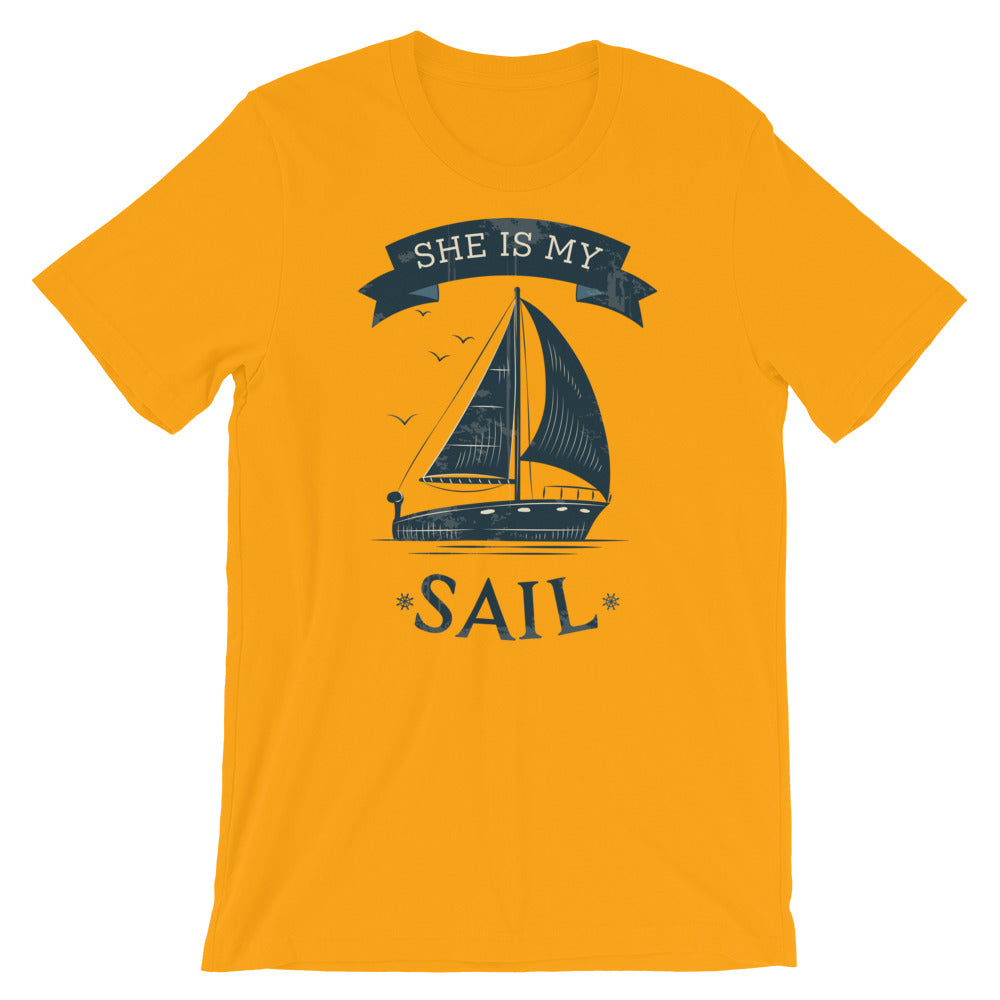 She is My Sail | Cruise Shirt | Highwind Travel