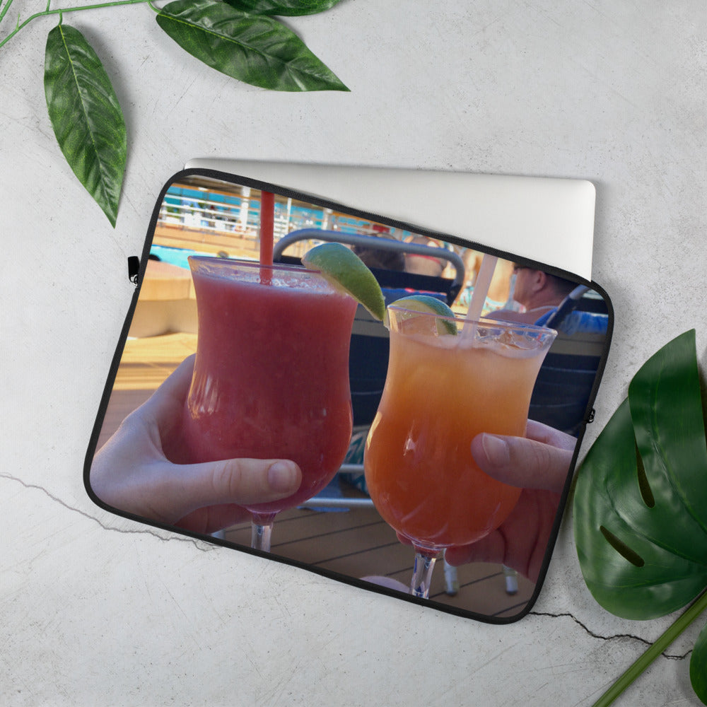 Cruise Drinks + Laptop Sleeve