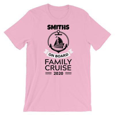 Personalize Your Own Family Cruise Shirt | Light Colors | Highwind Travel
