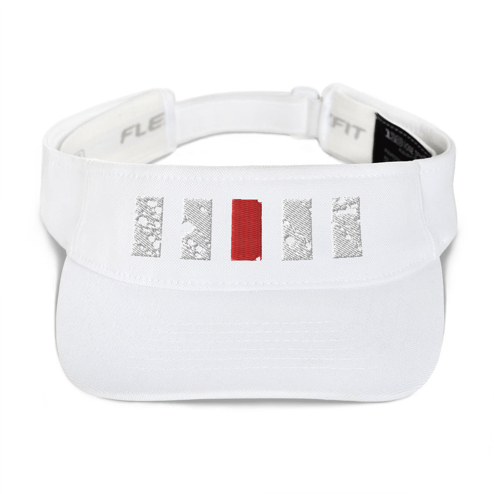 Red Line Cruise Visor | Highwind