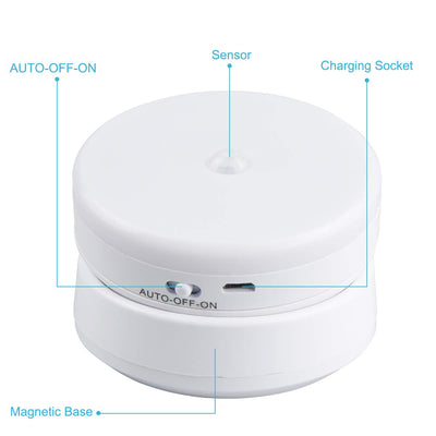 USB Smart Charging Night Light with Intelligent Induction and Magnetic Base
