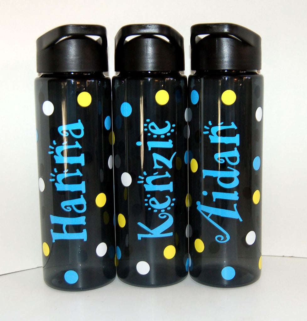 personalized plastic water bottle be vocal designs