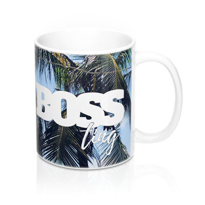 It's a Boss Ting Mugs