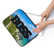 It's a Boss Ting Laptop Sleeve