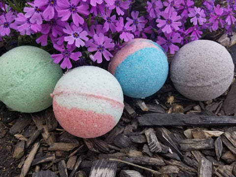 Set of Bathbombs with a Purpose