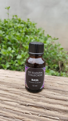 Basil, sweet Essential Oil, 15ml