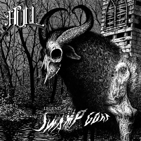 Hull ‎– Legend Of The Swamp Goat 7""