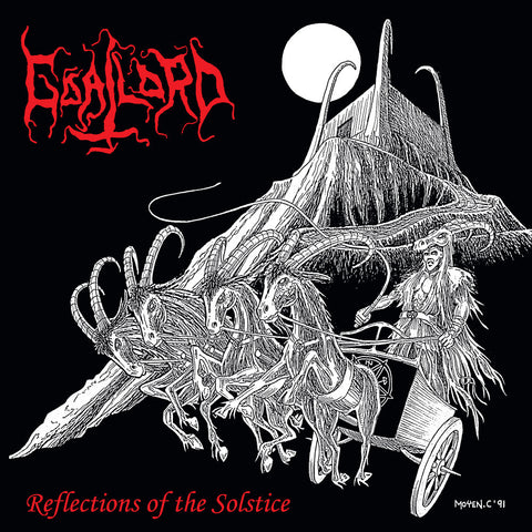 Goatlord ‎– Reflections Of The Solstice LP