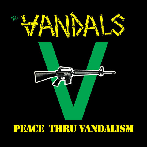 The Vandals ‎– Peace Thru Vandalism 12""
