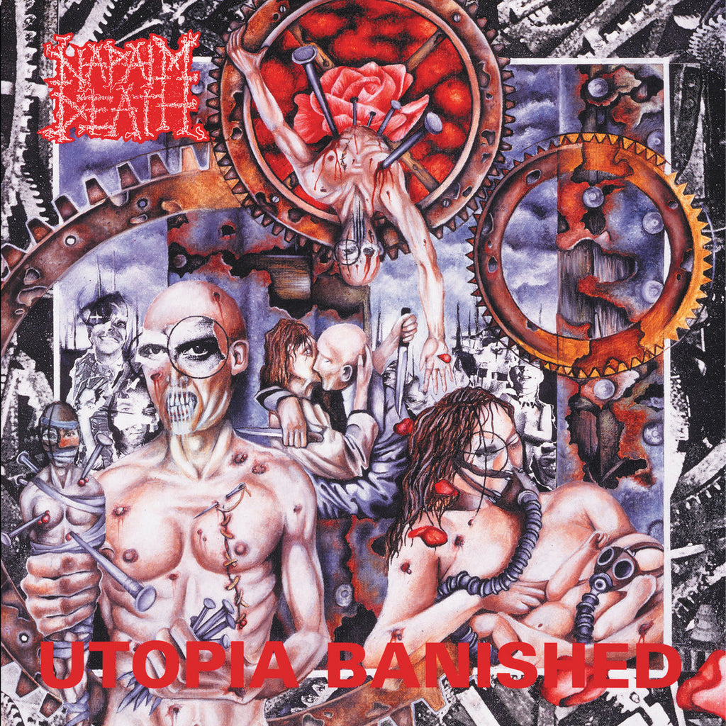 Napalm Death ‎– Utopia Banished LP